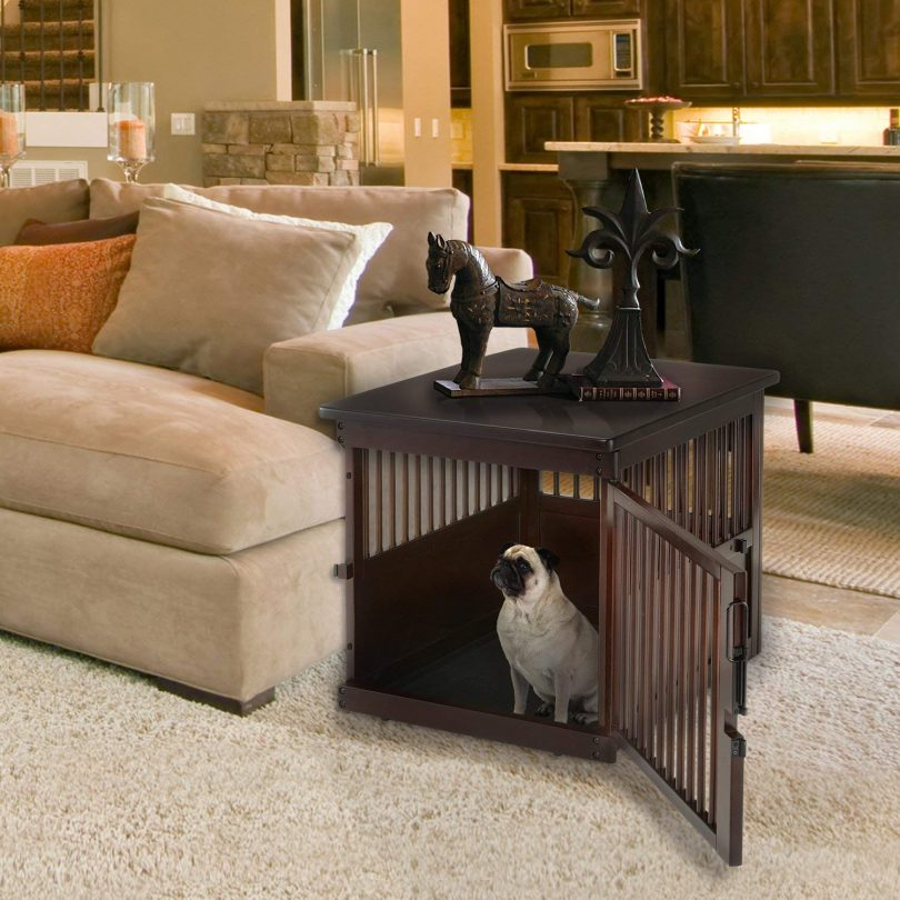Best Dog Crate End Table